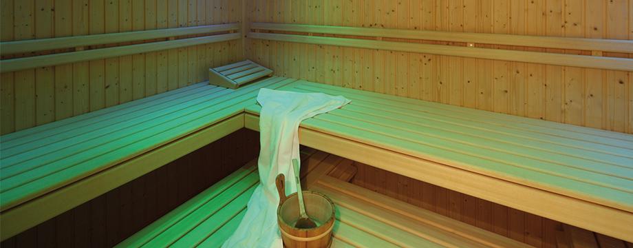 Sauna im Hotel Cristal-Flumserberg